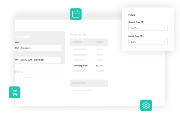 Add fees to delivery or pickup days and times in WooCommerce