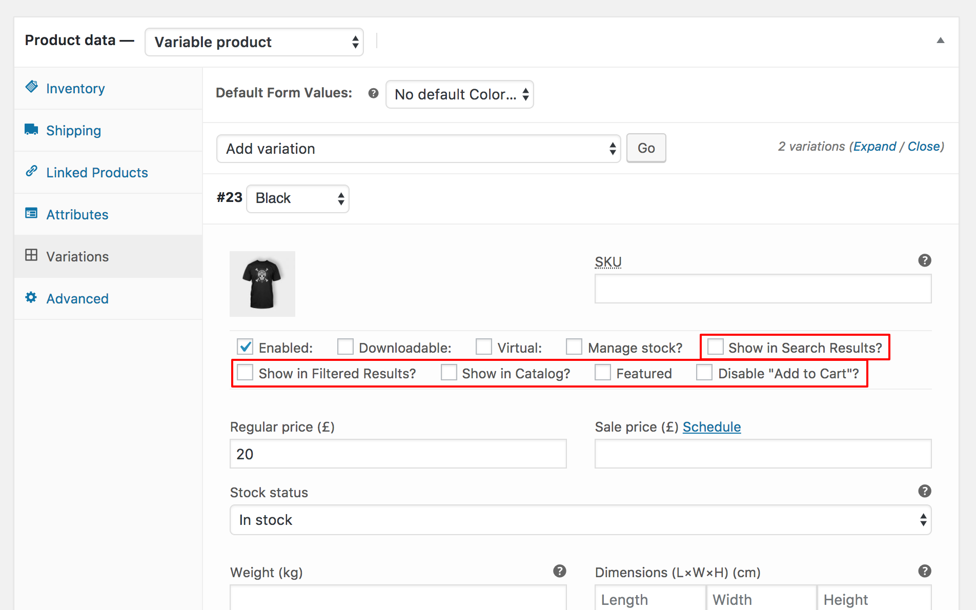 2 Ways to Show Variations on the Shop Page in WooCommerce - Iconic