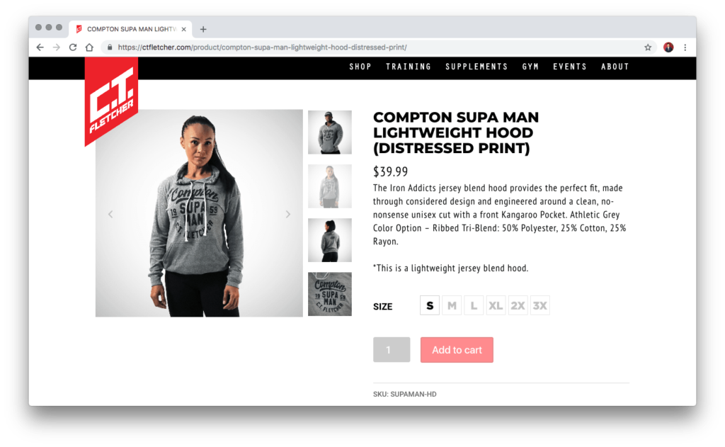 An improved WooCommerce Product Gallery Slider with WooThumbs