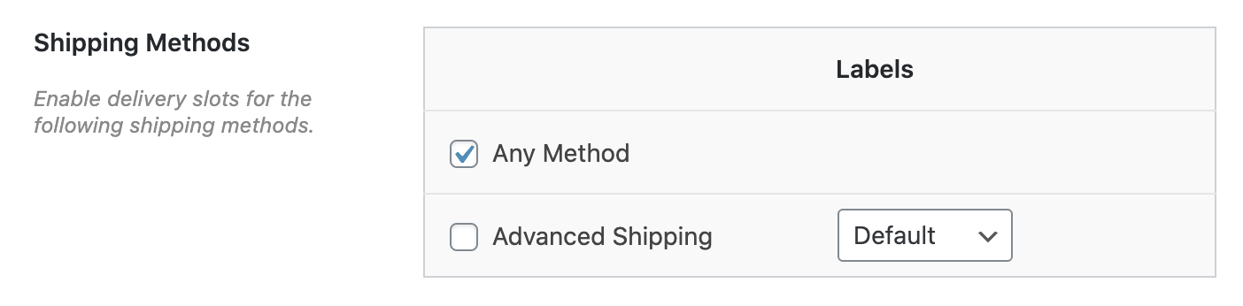 Enable date and time fields shipping