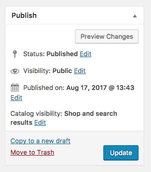 Publish product
