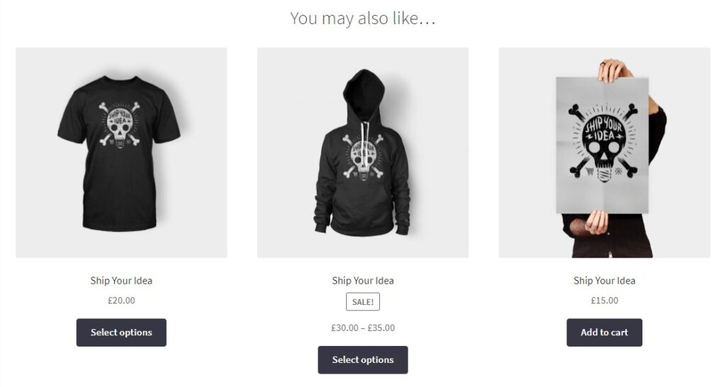 you may also like woocommerce