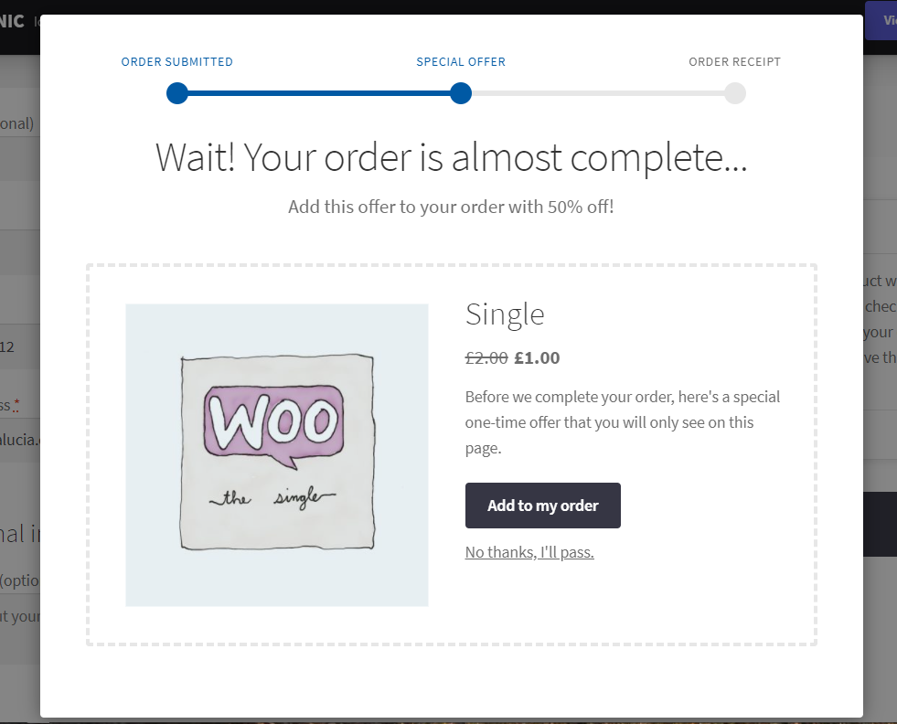 cross sell after checkout woocommerce