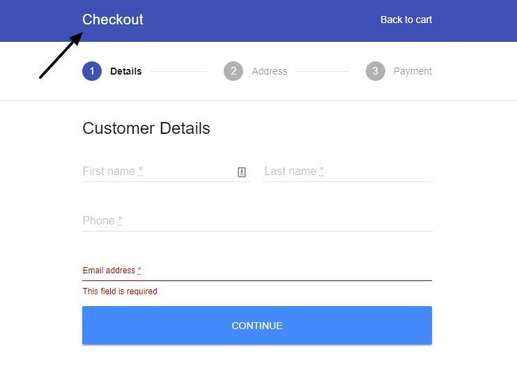 flux checkout header