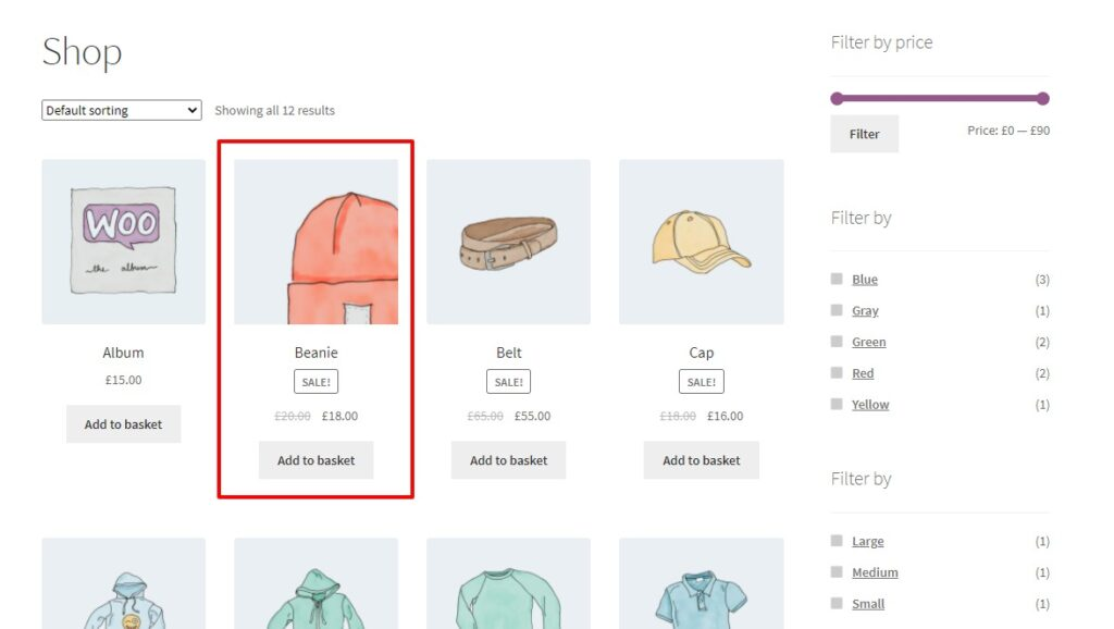 zoom effect image swap for woocommerce
