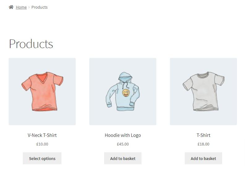 best selling hoodies shortcodes woocommerce
