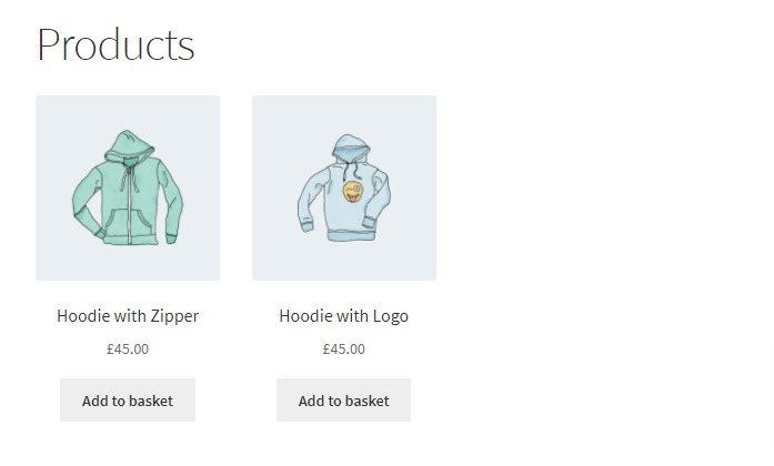 newest products hoodies